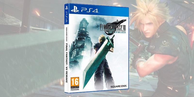 La copertina di Final Fantasy VII Remake