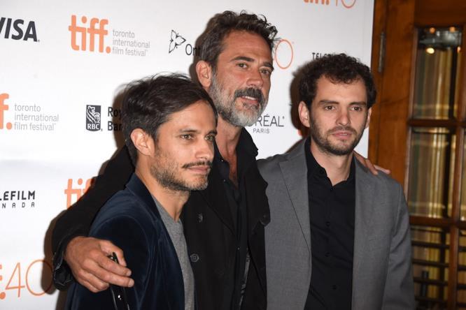 Gael García Bernal, Jeffrey Dean Morgan e Jonás Cuarón al Toronto International Film Festival