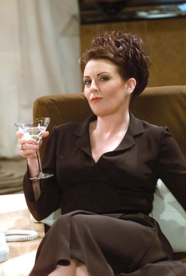 Megan Mullally in una scena di Will & Grace