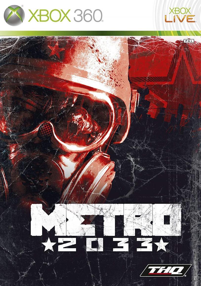 Cover sleeve della confezione del videogioco Metro 2033 per Xbox