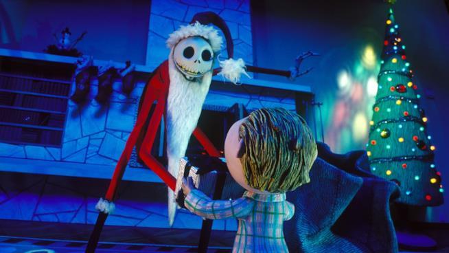 Jack Skeletron, anche quest'anno alle prese con i regali