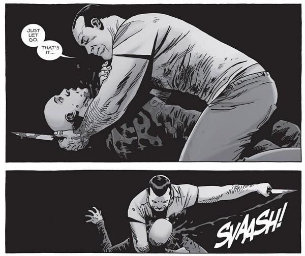 La scena in cui Negan uccide Alpha