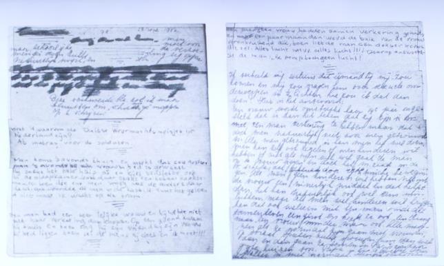 Le nuove pagine scoperte dalla Fondazione Anna Frank
