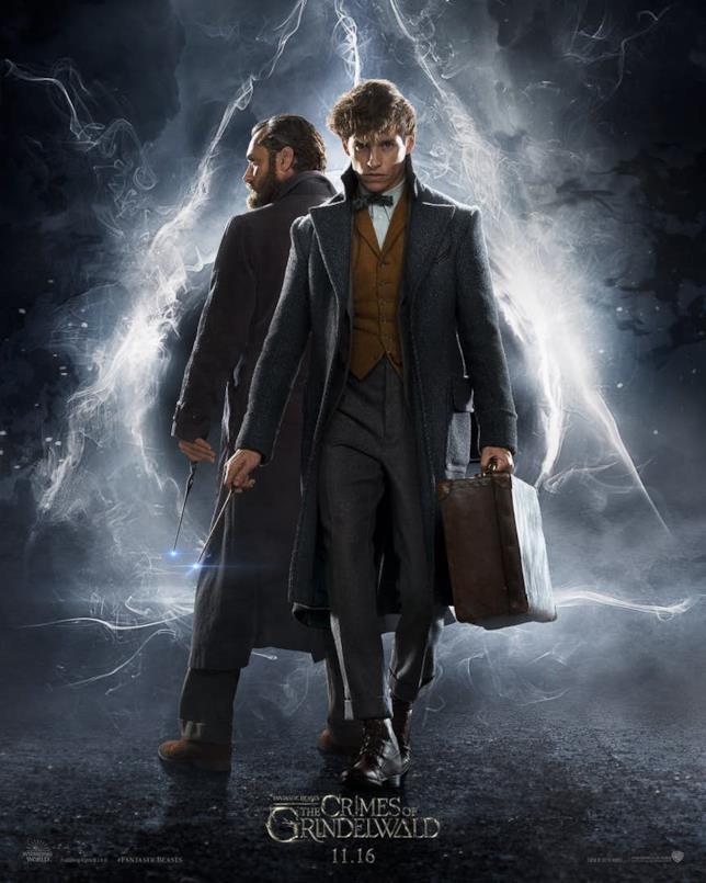 Newt e Silente insieme nel teaser poster de I Crimini di Grindelwald