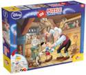 Lisciani Giochi 48014 - Pinocchio Puzzle Doppia Faccia Plus, 108 Pezzi