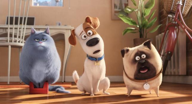Pets 2 - Vita da animali scena