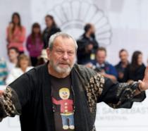 Mezza figura del regista Terry Gilliam