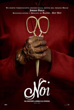 Le forbici nel teaser poster italiano di NOI