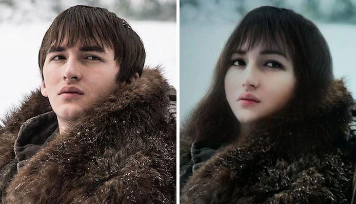 Bran Stark in versione femminile