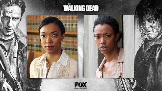 Sonequa Martin Green è Sasha Williams in The Walking Dead