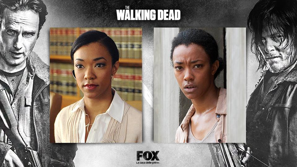 "Sonequa Martin-Green (Sasha): potreste averla vista nelle serie TV ""Army Wives"" e ""The Good Wife""."