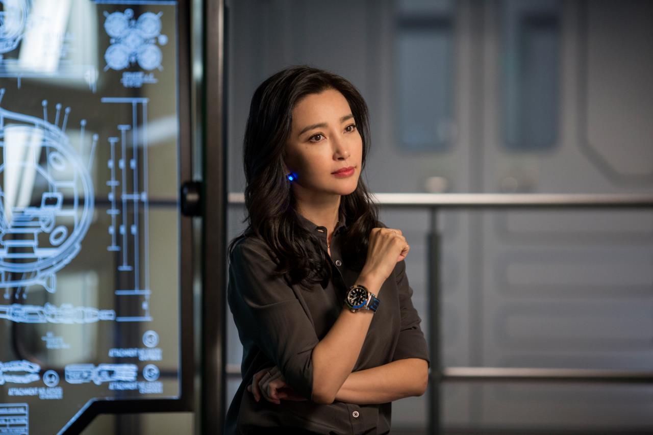 L'attrice Bingbing Li