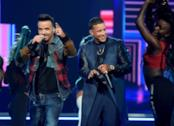 Daddy Yankee e Luis Fonsi ai Grammy 2018