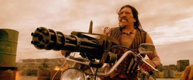 Danny Trejo in una scena tratta da Machete Kills