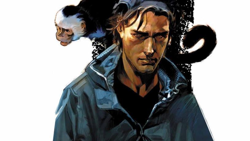 Disegno raffigurante i protagonisti di Y: The Last Man