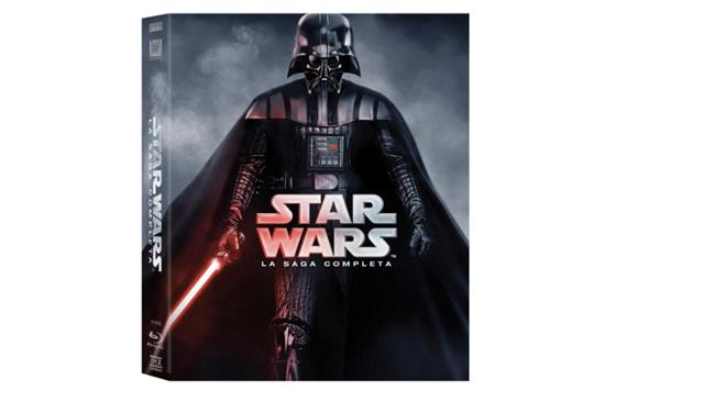 Copertina Star Wars - La Saga Completa (9 Blu-Ray)