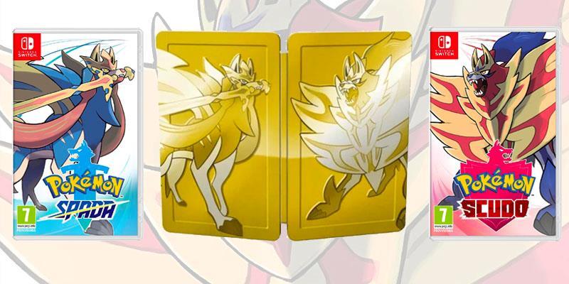 Le diverse edizioni di Pokémon Spada e Scudo