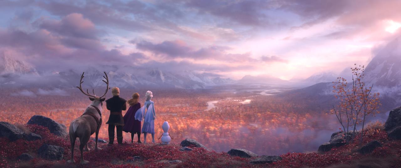 I protagonisti di Frozen 2 pronti a una nuova avventura