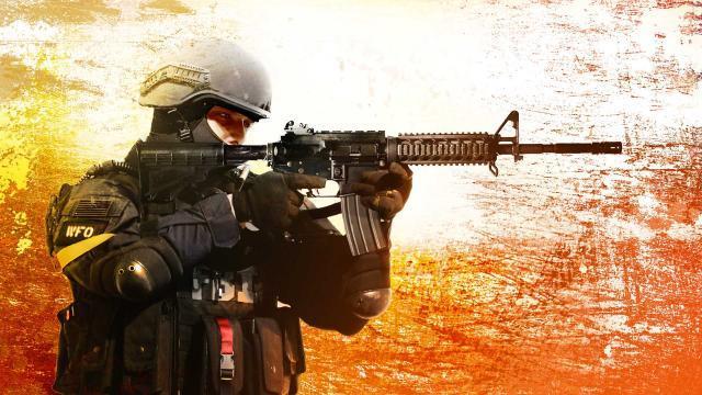 Un soldato di Counter-Strike: Global Offensive