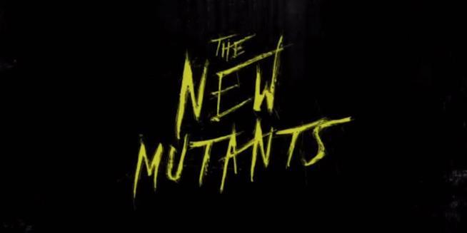 Il logo del terrificante New Mutants