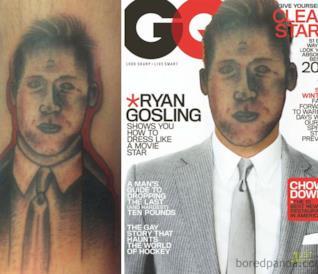 Face-swap per farti capire quanto è orribile il tuo tatuaggio [GALLERY]