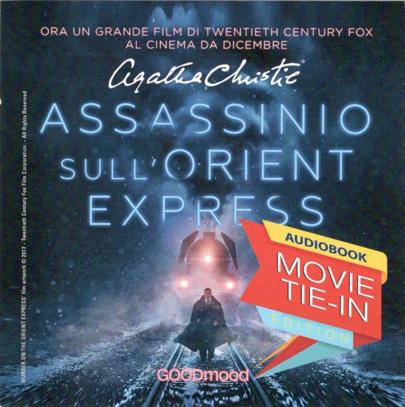 L'audiolibro di Assassinio sull'Orient Express