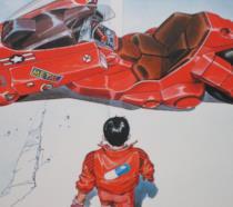 Una scena del film Akira del 1988