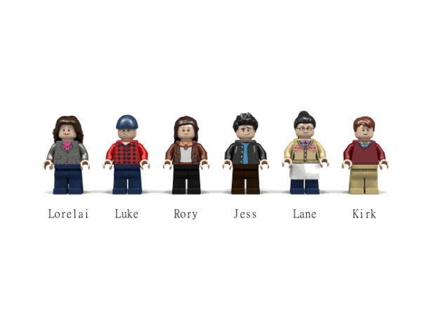 I personaggi della serie LEGO