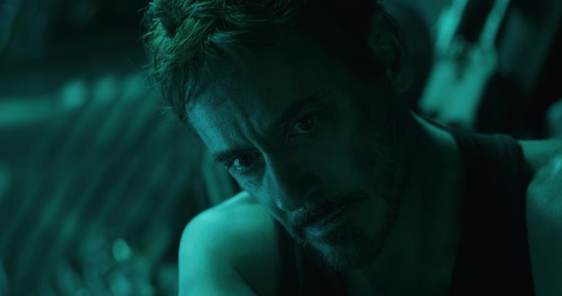 Tony Stark in Endgame