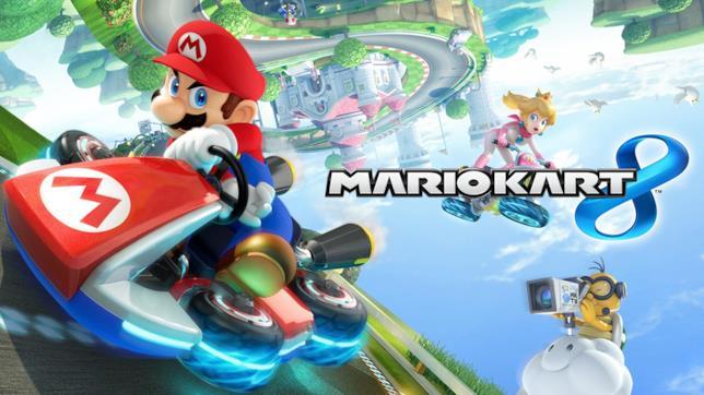 Mariokart 8 sarà uno dei giochi dello spazio game