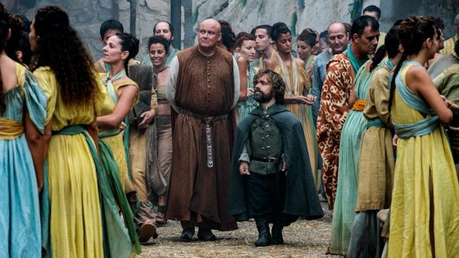 Tyrion e Varys in Game of Thrones