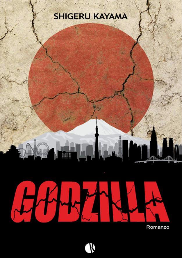 La copertina di Godzilla