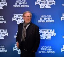 Steven Spielberg a un evento per Ready Player One