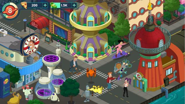 New New York in Futurama: World of Tomorrow