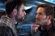 Thor e Star Lord faccia a faccia