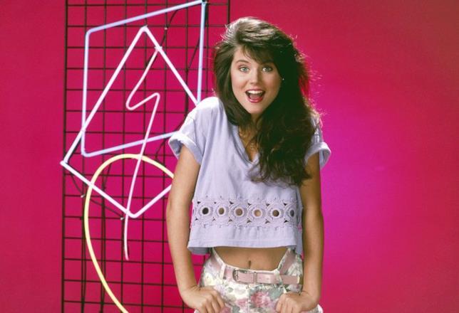 Kelly, una delle protagoniste di Bayside School