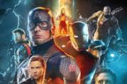 Un primo piano dei Vendicatori nel poster ufficiale di Avengers: Endgame