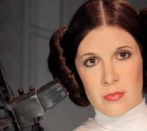 Carrie Fisher nei panni della principessa Leia