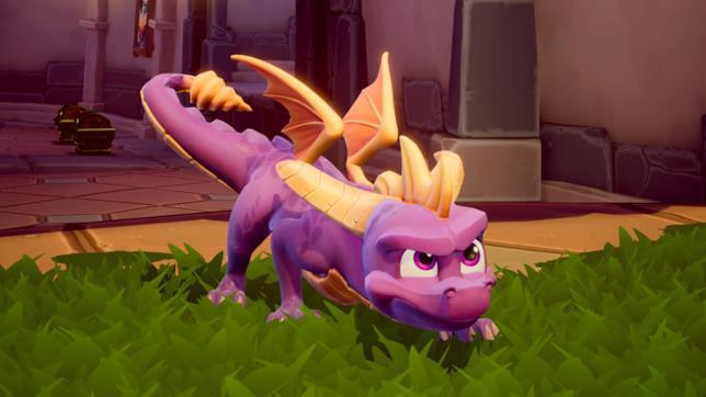 Spyro in azione in Spyro Reignited Trilogy