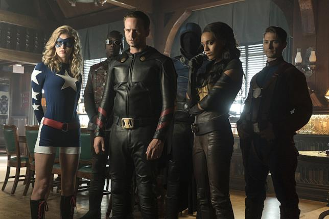 Vixen e la JSA in DC's Legends of Tomorrow