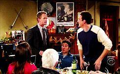 Marshall prende a schiaffi Barney