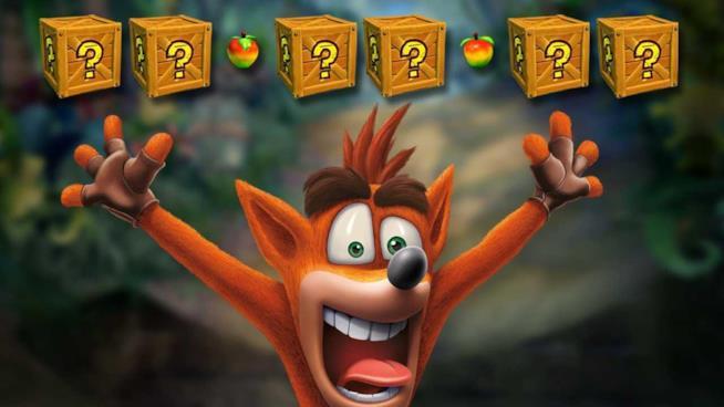 Un primo piano dell'irriverente Crash Bandicoot dalla Crash Bandicoot N.Sane Trilogy