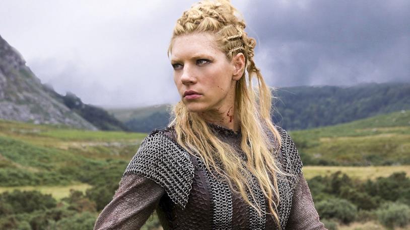 Katheryn Winnick è Lagertha in Vikings