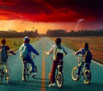 Un'immagine promozionale di Stranger Things
