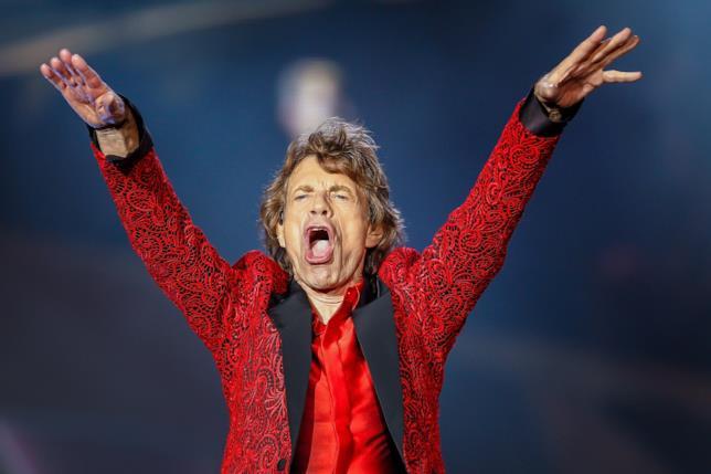 Mick Jagger in concerto