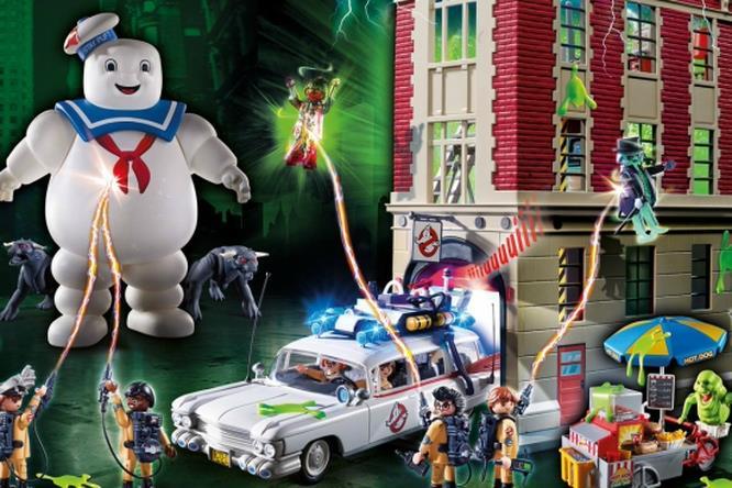 Il set Playmobil dedicati ai Ghostbusters