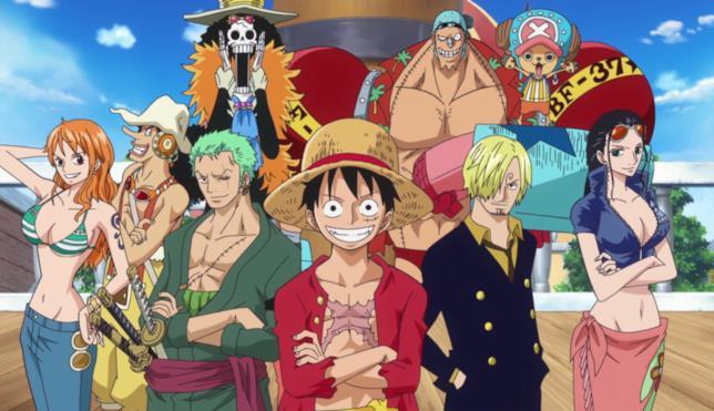 La cima di Cappello di Paglia in One Piece