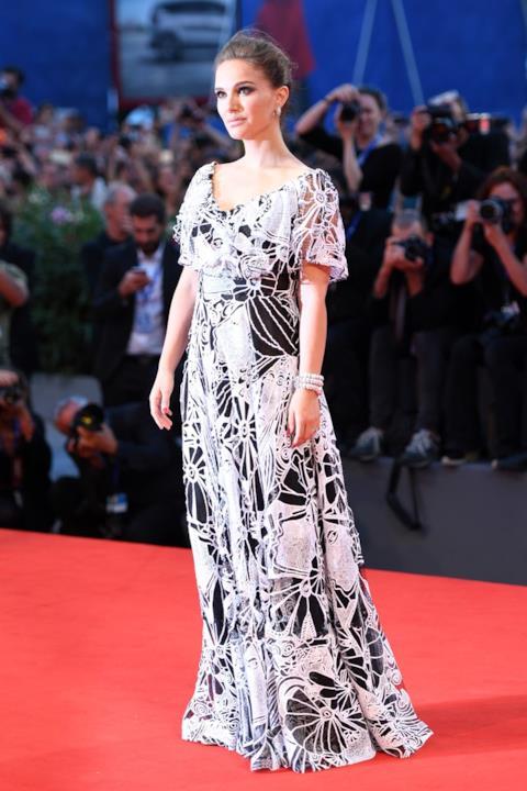Il red carpet di Natalie Portman a Venezia 73