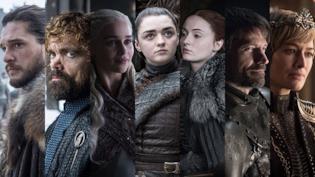I protagonisti di Game of Thrones 8