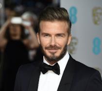 Primo piano di David Beckham